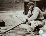 Honus Wagner - In Dugout With Bats Poster