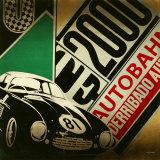 Autobahn Print by K.c. Haxton