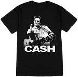Johnny Cash - Cash Flippin' Camisetas