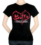 Juniors: Buffy the Vampire Slayer - Tribal Heart T-Shirt