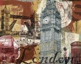 Tour London Affiche par Eric Yang