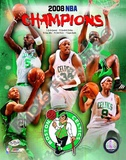 2007-08 Boston Celtics NBA Champions Poster