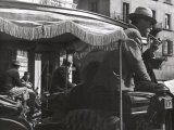 Driver on a Carriage Photographic Print by Vincenzo Balocchi