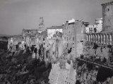 View of Pitigliano, Grosseto Photographic Print by Vincenzo Balocchi