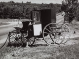 Antique Carriage on a Country Road Photographic Print by Vincenzo Balocchi