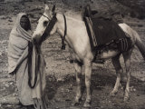 Portrait of a Nomadic Bedouin Photographic Print by Vincenzo Balocchi