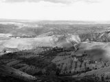 Panoramic View of Le Balze, Volterra Photographic Print by Vincenzo Balocchi