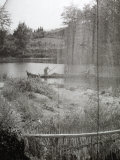 Nets and Fishermen on a River Photographic Print by Vincenzo Balocchi