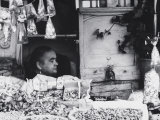 Candy Seller, Cigarettes and Peanuts in Granada Photographic Print by Vincenzo Balocchi