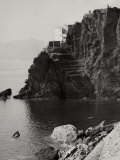 View of Manarola from Riomaggiore Photographic Print by Vincenzo Balocchi