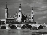 The Basilica of Our Lady of El Pilar, Granada Photographic Print by Vincenzo Balocchi