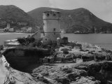 Medicean Tower in Campese, the Island of Giglio Photographic Print by Vincenzo Balocchi