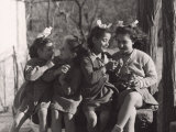Group of Girls Photographic Print by Vincenzo Balocchi