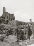Th Church of the Camadolite Abbey in Volterra Photographic Print by Vincenzo Balocchi