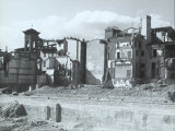 Ruins of Lungamo Degli Acciauoli in Florence before Reconstruction Photographic Print by Vincenzo Balocchi