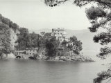 The Paraggi Castle, District of Genova Photographic Print by Vincenzo Balocchi