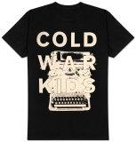 Cold War Kids - Typewriter Tshirts