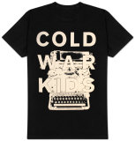 Cold War Kids - Typewriter T-Shirt