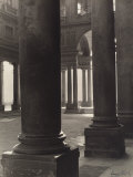 Portico of the Uffizi Gallery, Florence Photographic Print by Vincenzo Balocchi