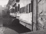 Typical Shutters on the Ponte Vecchio Photographic Print by Vincenzo Balocchi