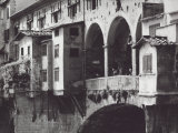 Typical Shutters of the Ponte Vecchio Photographic Print by Vincenzo Balocchi