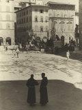 Piazza Della Signoria, Florence Photographic Print by Vincenzo Balocchi
