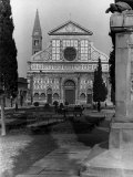 Santa Maria Novella Church in the Square of the Same Name, Florence Photographic Print by Vincenzo Balocchi