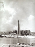 Blast Furnaces on the Island of Elba Photographic Print by Vincenzo Balocchi
