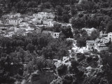 View on the Albaycin Neighbourhood, Granada, Spain Photographic Print by Vincenzo Balocchi