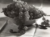 Grapes in the Fruit Bowl Photographic Print by Alessandro Bencini