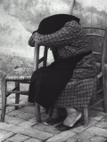 Old Woman Sleeping Photographic Print by Vincenzo Balocchi