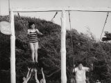 Kids on a Swing Photographic Print by Vincenzo Balocchi