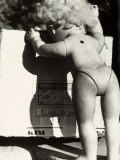 Abandoned Doll Next to a Box Photographic Print by Vincenzo Balocchi