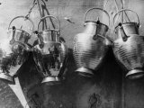 Copper Kettles Made by a Florentine Artisan Photographic Print by Vincenzo Balocchi