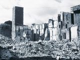 Bombed Quarter Near Via Porta Rossa, Florence Photographic Print by Vincenzo Balocchi