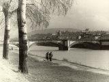 Ponte Della Vittoria in Florence, in the Cascine Park Photographic Print by Vincenzo Balocchi