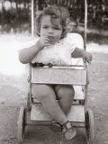 Child in Stroller Photographic Print by Vincenzo Balocchi