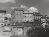 Santa Trinita Bridge in Florence Photographic Print by Vincenzo Balocchi
