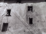 People Leaning Out the Window, Massa Marittima Photographic Print by Vincenzo Balocchi