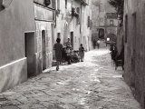 Street of Asciano Photographic Print by Vincenzo Balocchi