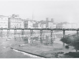 Ponte Alle Grazie as it Was before Reconstruction, Florence Photographic Print by Vincenzo Balocchi
