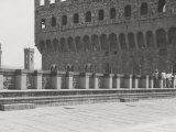 Piazza Della Signoria Seen from the Terrace of the Loggia Dei Lanzi Photographic Print by Vincenzo Balocchi