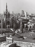 Panorama of Milan Photographic Print by A. Villani