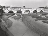 The Ponte Di Tiberio, in Rimini Photographic Print by A. Villani