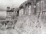 Wall of the Castruccio Castle in Siena Photographic Print by Vincenzo Balocchi