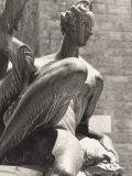 Nereid, Statue in the Neptune Fountain, Piazza Della Signoria, Florence Photographic Print by Vincenzo Balocchi