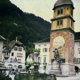 Square in Altdorf, Switzerland Photographic Print by Henrie Chouanard