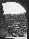 Interior of the Colosseum Photographic Print by A. Villani
