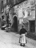 The Woman in the Bazar Photographic Print by Luciano Ferri