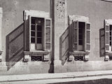 Windows on the First Floor of a Building Photographic Print by Vincenzo Balocchi